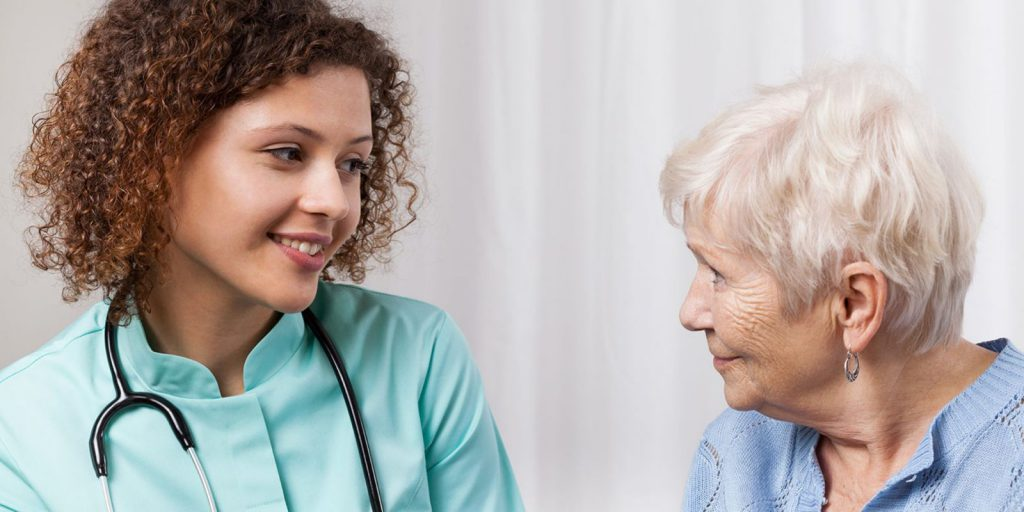 Doctor Discuss Preventing Wound Infection in Elderly Patients