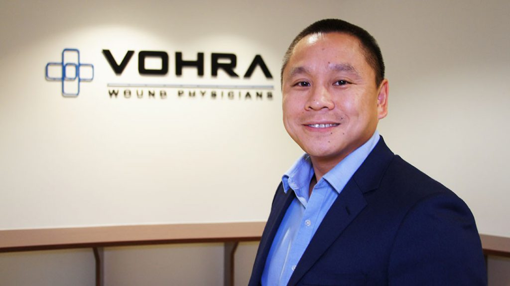 Vohra Vice President of Business Development, Peter Winn