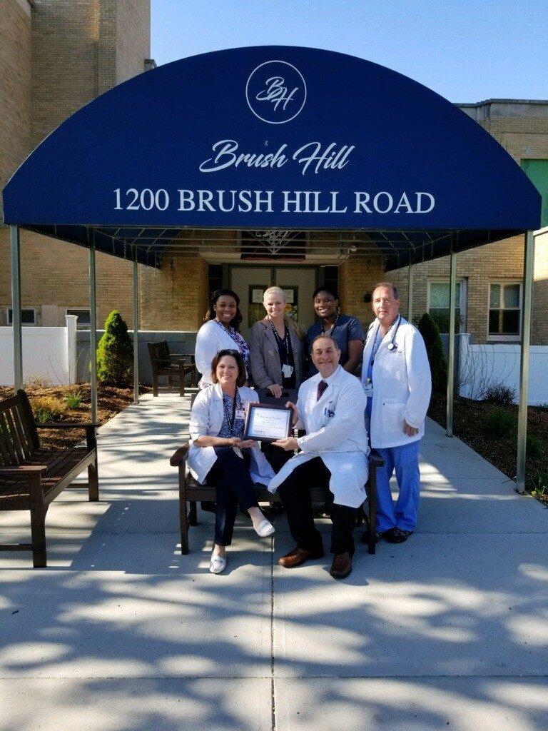 Vohra Certifies Brush Hill Care Center