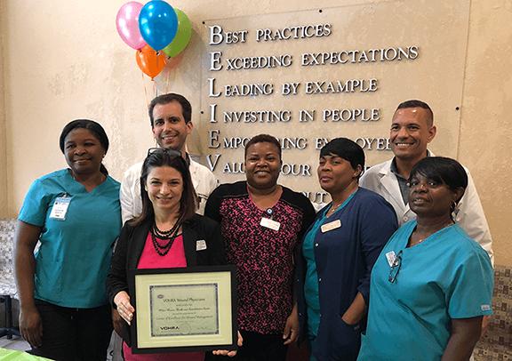 Vohra Certifies Wilton Manors Health & Rehabilitation Center