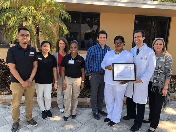 Vohra Certifies West Broward Rehabilitation