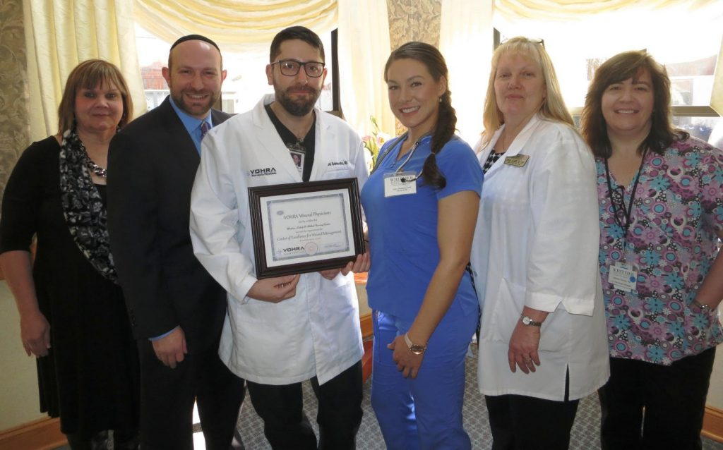 Vohra Certifies Whittier Rehabilitation & Skilled Nursing Center