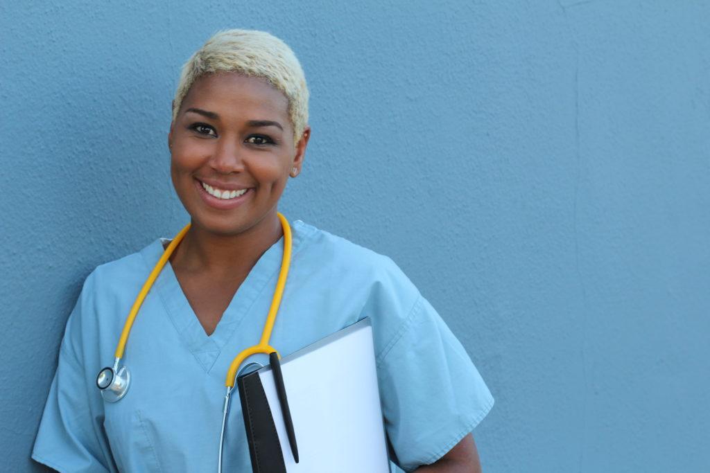 Nurse standing in hospital
