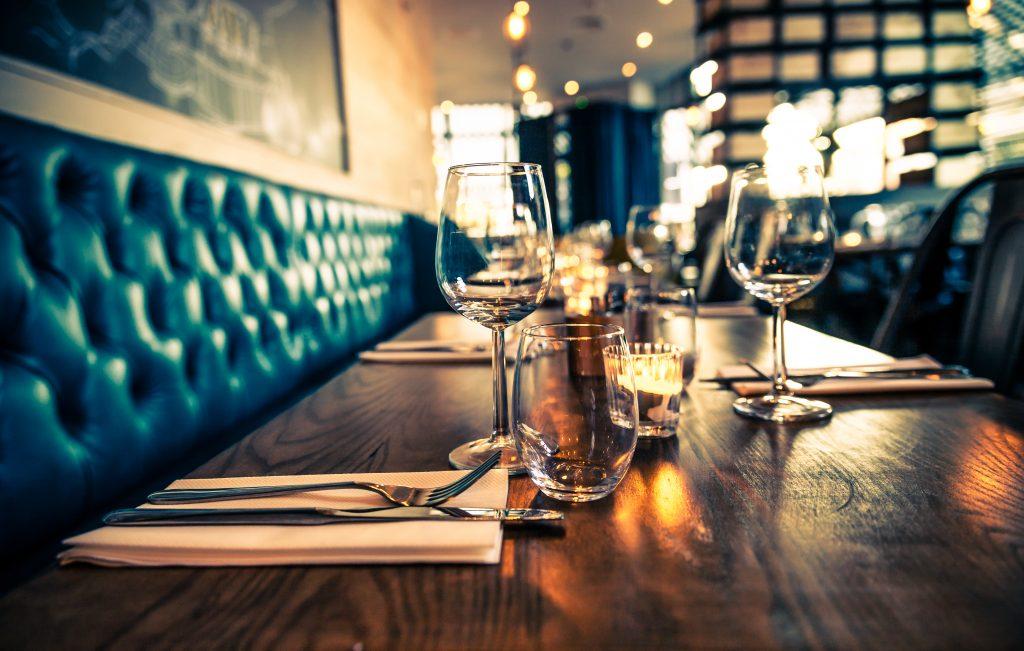 Social Distancing in Restaurant
