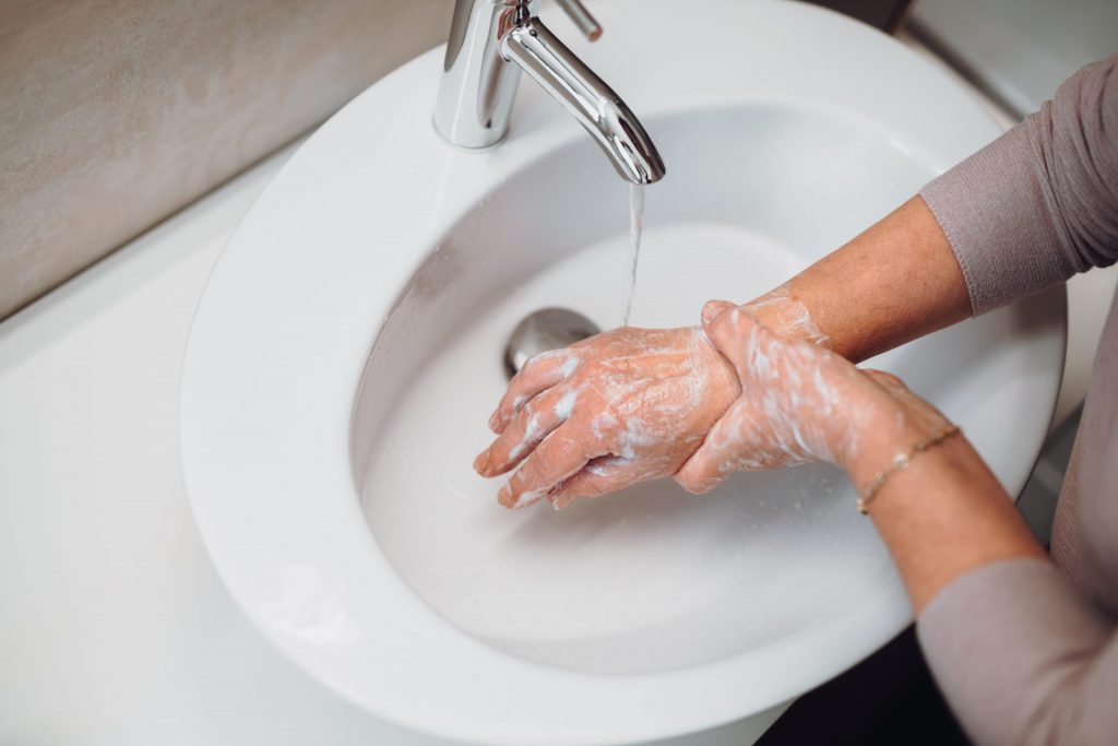 Frequently Washing hands in this COVID-19 pandemic