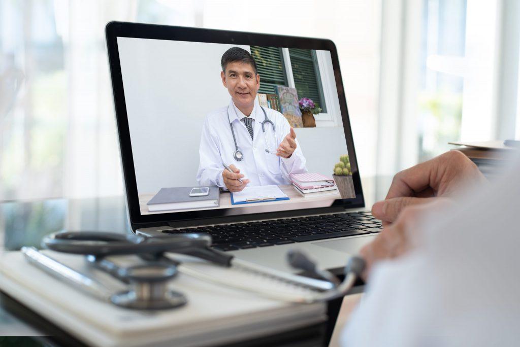 Patient on Telemedicine Portal