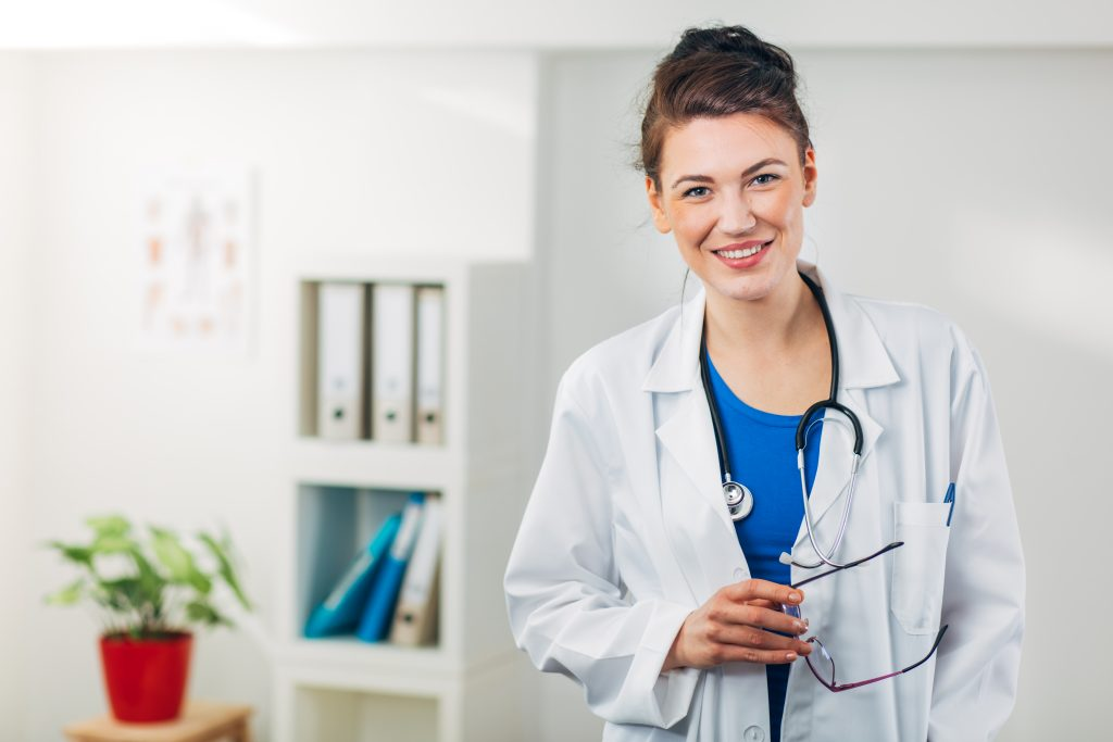 Wound Care Physician with Stethoscope