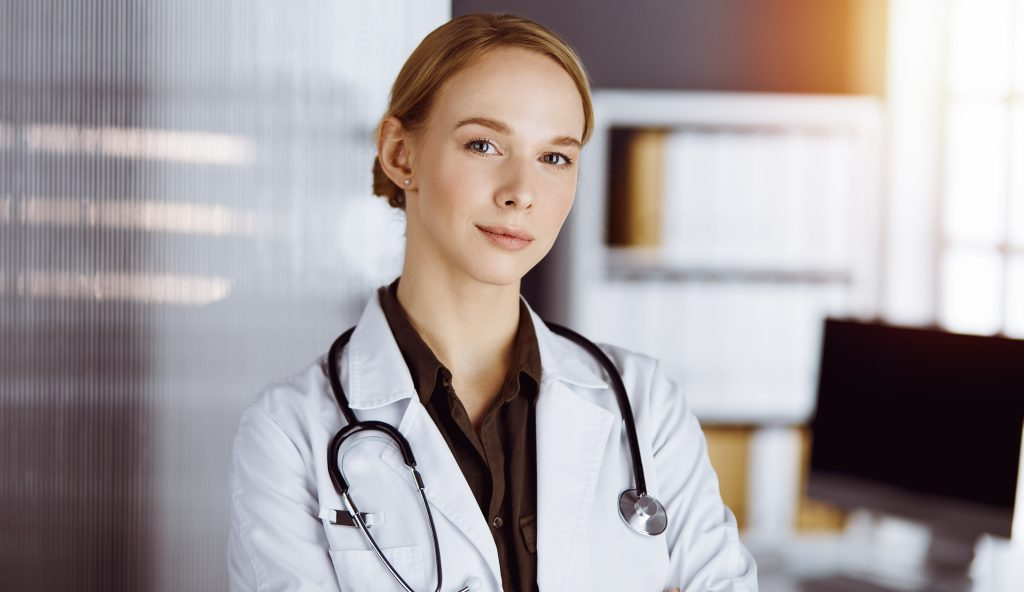 Female Physician Smiling