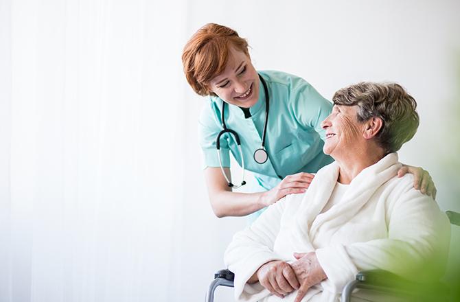Female Doctor Assuring Female Patient